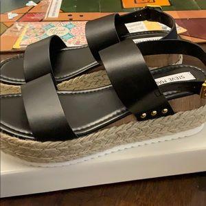 Steve Madden Shoes   Cici Black Leather